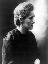 Polish-born French physicist Marie Curie. Curie...