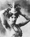 The infamous exotic dancer Mata Hari who was...