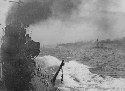Ships of the German High Seas Fleet steaming to...
