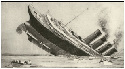 The Lusitania, a luxury liner with 2,000 people...