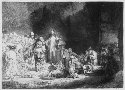 """Christ Healing the Sick."" Rembrandt Harmensz van..."