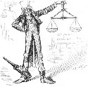 "Thomas Nast, ""Scaly Justice (Uncle Sam)""..."