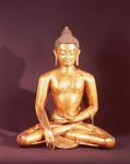 Gautama the Buddha (gilt copper)