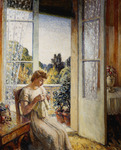 The Girl by the Window, 1940 (oil on canvas)