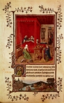 The Trivulzio Book of Hours, miniature by Jan van Eyck (1390-1441)