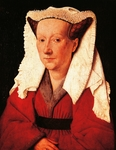 Portrait of Margaretha van Eyck by Jan van Eyck (1390-1441)