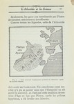 Map showing probable location of Atlantis From, Atlantis, Does it Exist? by Abbe' Moreux