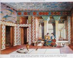 Palace of Minos at Knossos, Queen's Megaron by Sir Arthur John Evans
