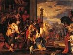 Martyrdom of St Justine, by Paolo Caliari known as Veronese (1528-1588), oil on canvas, 104x138 cm, 1556
