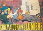 Lumiere Motion Pictures (Cinematographe Lumiere) by Marcellin Auzolle, print, 1896