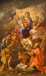 Madonna and Child between St Peter and St Paul by Francesco Solimena (1657-1747)