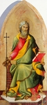 St Andrew Apostle by Lippo Memmi (active from circa 1317-1350)