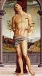 Martyrdom of St Sebastian, from the School of Perugino, 15th-16th Century.