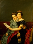 Zenaide and Carlotta, daughters of King Joseph, by Jacques-Louis David (1748-1825)