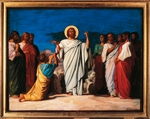 The mission of the Apostles, 1861, by Jean Hippolyte Flandrin (1809-1864), preparatory cartoon for the paintings of Saint Germain-des-Pres.