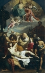 Martyrdom of St Lawrence, 1825-1827, by Francesco Podesti (1800-1895).