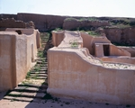 Syria, Tell Mardikh, Staircase leading to royal apartments of Royal Palace of Ebla, 2400 BC, Ebla civilization
