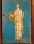 Fresco portraying Medea, from Stabiae, Italy