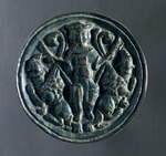 Mirror depicting Alexander's ascent to Heaven. Byzantine Civilization, 11th-12th Century.