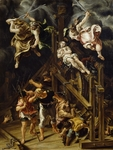 Martyrdom of St Catherine, 1565-1569, by Lelio Orsi (circa 1508-1587), oil on canvas, 88x66.5 cm