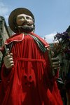 Italy, Sicily region, Enna province, Aidone, Holy Week celebrations. Statues representing the Apostles