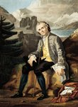 France, Paris, Portrait of Jean-Jacques Rousseau