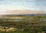 The Curupayty battlefield, September 22, 1866, by Candido Lopez