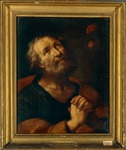 Saint Peter the Apostle by anonymous artist of Emilia-Romagna Region, 1650-1699