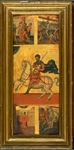 Life and Martyrdom of Saint Theodore Stratelates, Byzantine School