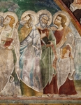 Figures of Apostles, detail from Ascension, from Master Trecentesco School, fresco, 14th century