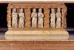 Apostles Simon and Jude, Philip and James, Andrew and Peter, detail of relief decoration from Ark of Abdon and Sennen, high altar, Cathedral of Santa Maria Assunta, Parma, Emilia-Romagna, Italy, 12th century