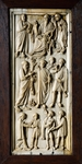 Stories from Life of St Paul, panel from diptych, ivory decorated in relief, Italy, 5th century
