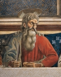 The Apostle Andrew, detail from The Last Supper, by Andrea del Castagno, 1450, fresco