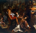Martyrdom of St Stephen, by Ludovico Cardi known as il Cigoli (1559-1613), painting.