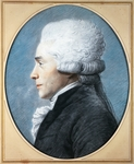 Portrait of Maximilien-Francois-Marie-Isidore de Robespierre (Arras, 1758-Paris, 1794), French lawyer, politician and revolutionary