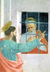 St. Peter Visited in Jail by St. Paul, c.1480 (fresco)