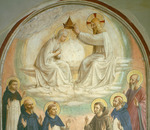 The Coronation of the Virgin, with Saints Thomas, Benedict, Dominic, Francis, Peter the Martyr and Paul, 1442 (fresco)