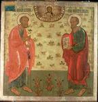 Apostles Peter and Paul, 1708 (tempera on gesso)
