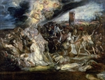 The Martyrdom of St. Ursula and the ten thousand virgins