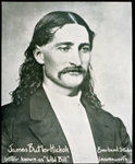 'Wild Bill' Hickok (b/w photo)