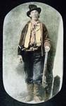 Billy the Kid (coloured engraving)