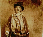Billy The Kid (1859-81) c.1880 (copy of the original tintype)