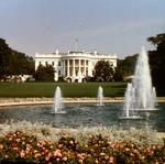 View of the South Portico of the White House (photo)