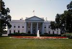 View of the North Portico of the White House (photo)