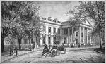 The White House, c.1886 (engraving)