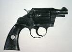 The revolver carried by Melvin Purvis when he shot dead John Dillinger on 2nd July 1934 (steel)