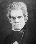 John C. Calhoun (1782-1850) (b/w photo)