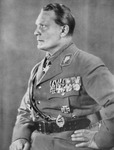 Hermann Goering, Chief of the German Luftwaffe (b/w photo)