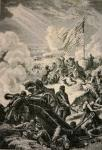Battle of Bunker Hill, 17 June 1775 (litho)
