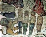 Martyrs of the Shiite faith fallen in combat (mural painting)